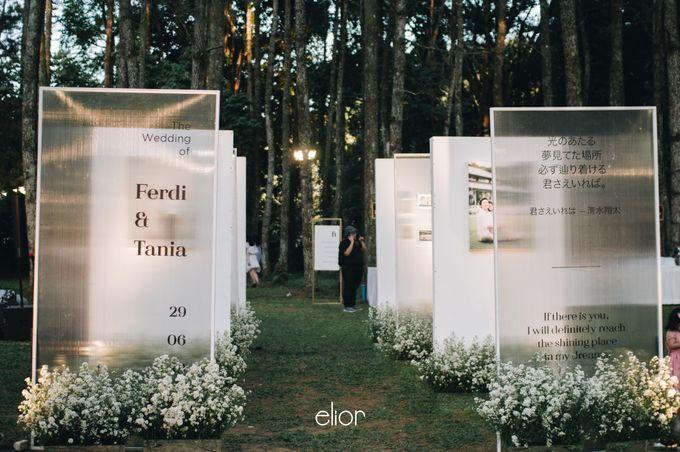 The Wedding Of Ferdi & Tania by Elior Design - 016