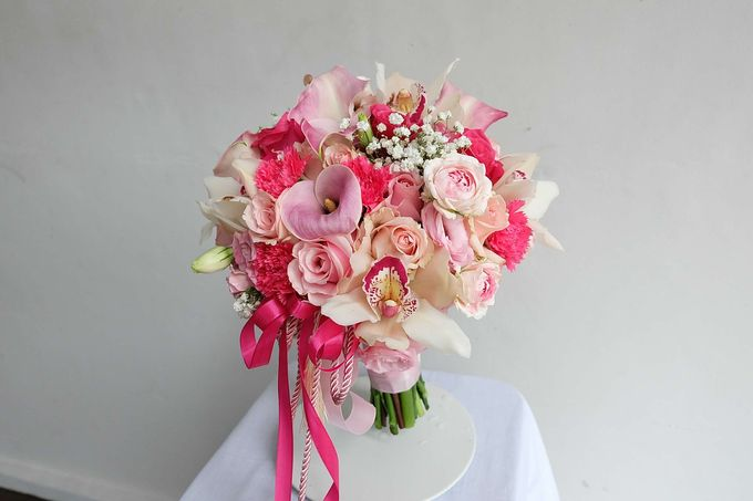 Round Bouquet Collection by Il Fiore - 014