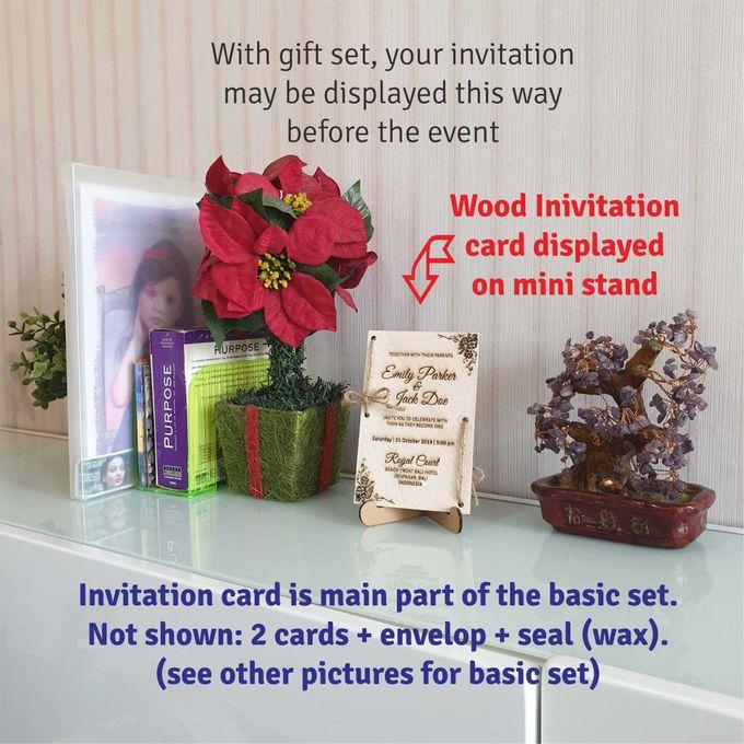 Emily & Jack Wood Invitation Cards by EverlastingID - 006