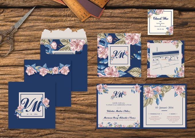 Wedding Invitation by Golden Dove - 008