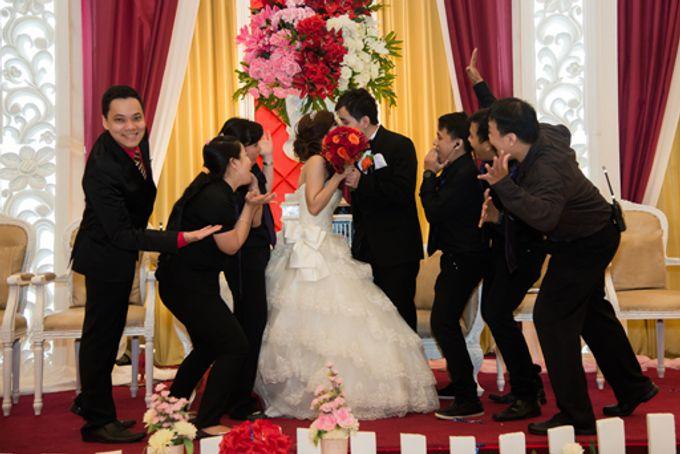 the wedding of Budi & Stephanie - 30 Juni 2013 by Full House the organizer & entertainment - 012