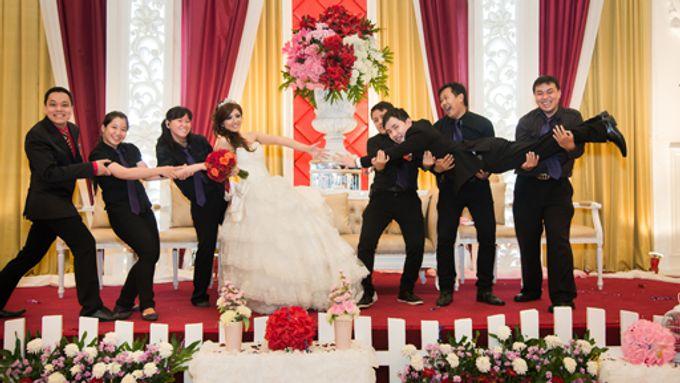 the wedding of Budi & Stephanie - 30 Juni 2013 by Full House the organizer & entertainment - 002
