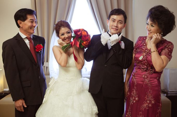 the wedding of Budi & Stephanie - 30 Juni 2013 by Full House the organizer & entertainment - 004