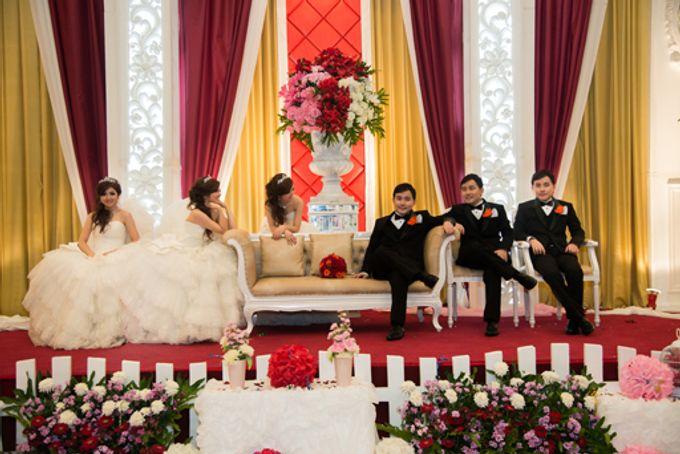 the wedding of Budi & Stephanie - 30 Juni 2013 by Full House the organizer & entertainment - 005