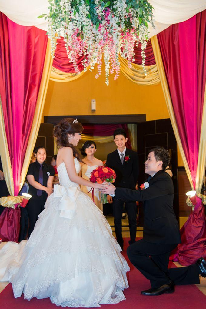 the wedding of Budi & Stephanie - 30 Juni 2013 by Full House the organizer & entertainment - 009