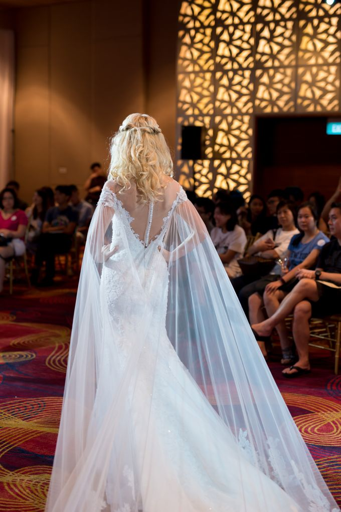Bridal Gown Fashion Show At Mandarin Orchard Singapore by La Belle Couture Weddings Pte Ltd - 015
