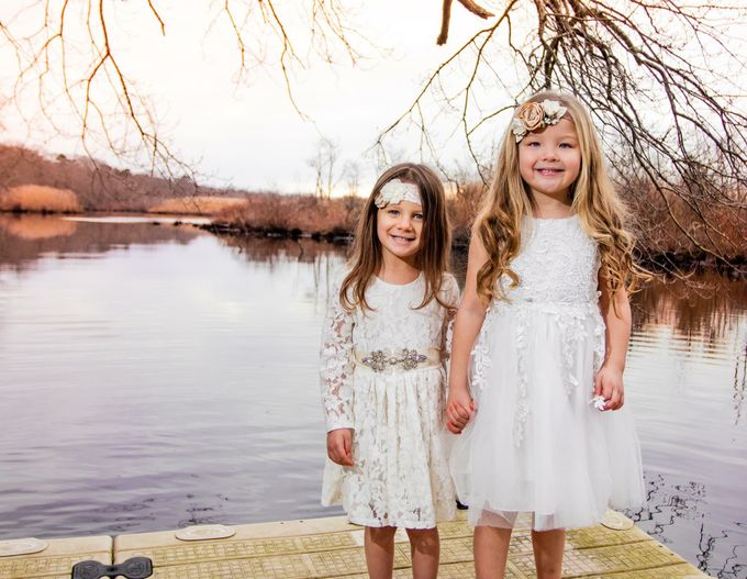 Flower Girl Dress by Sixpence Boutique & Co - 025