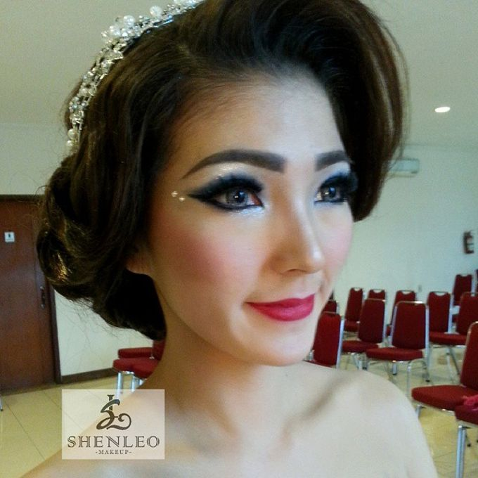 wedding makeup by ShenLeo Makeup - 007
