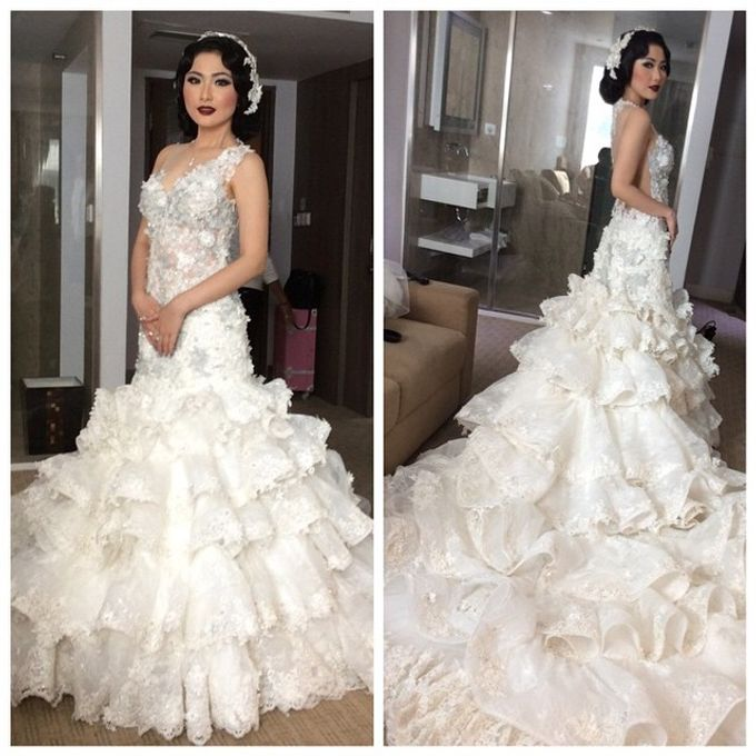 Special Designe Wedding Gown For Ms. Yeria by Tracy Bridal House - 002