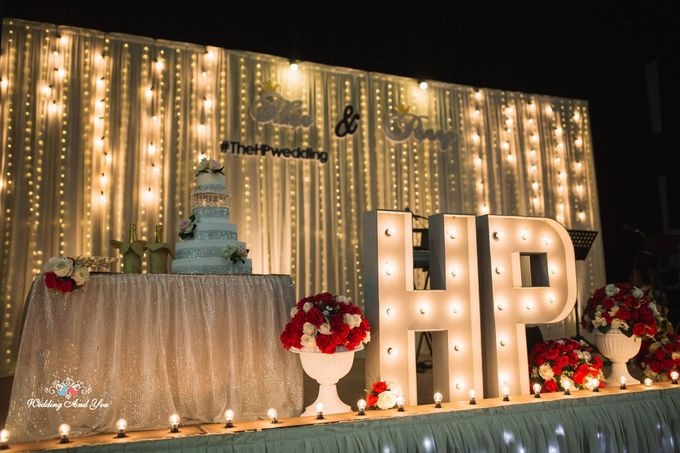 Stage Backdrop Design by Wedding And You - 031