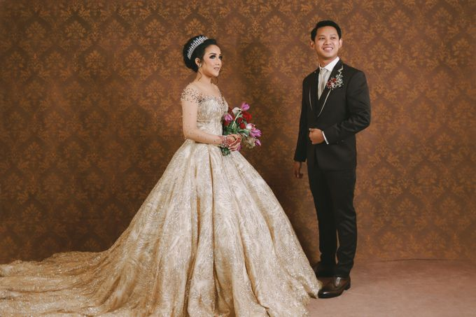 Farah & Zakki Wedding by Rent a Gown - 009