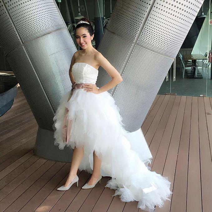 Natural Korean Bridal Look by Beautistylebykoreen - 002