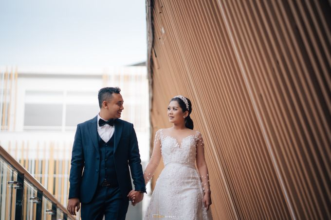 The Wedding Of Christian and Claudia by Kate Bridal and Couture - 007