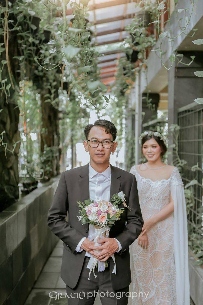 Wedding Isna & Aries by Gracio Photography - 005
