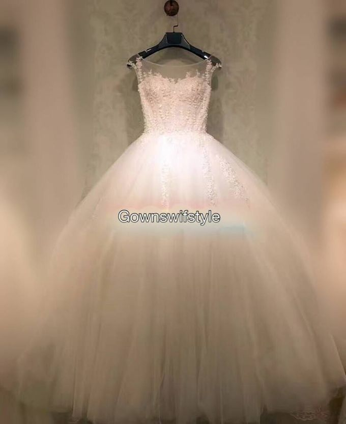 Beautiful Bridal Gowns by Makeupwifstyle - 014