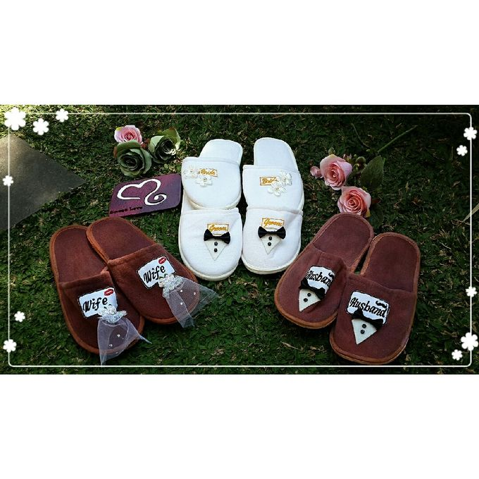Wedding Slippers by Sweetlovecollection - 015