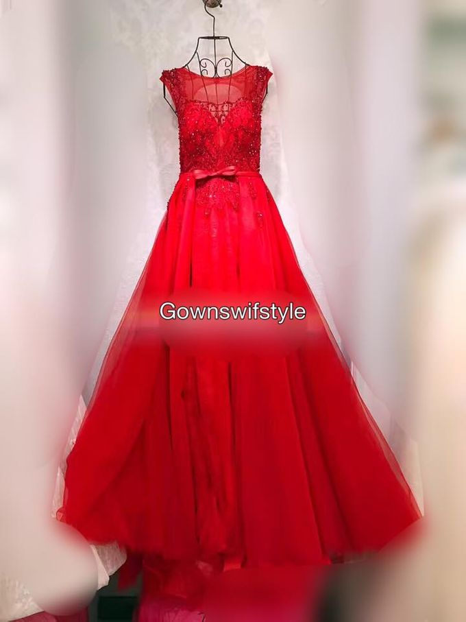 Beautiful Bridal Gowns by Makeupwifstyle - 015