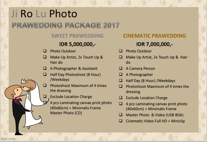 Art photo and cinematic video pricelist by our wedding event add to board art photo and cinematic video pricelist by our wedding event organizer 001 junglespirit Gallery