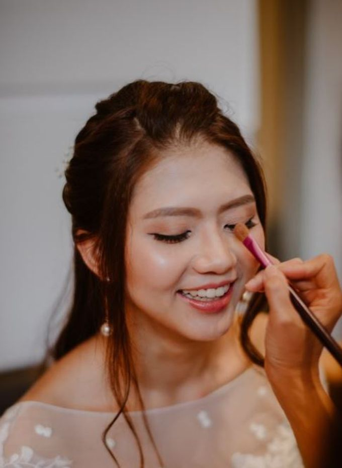 Aaron and  Veira Actual Day Wedding by Susan Beauty Artistry - 005