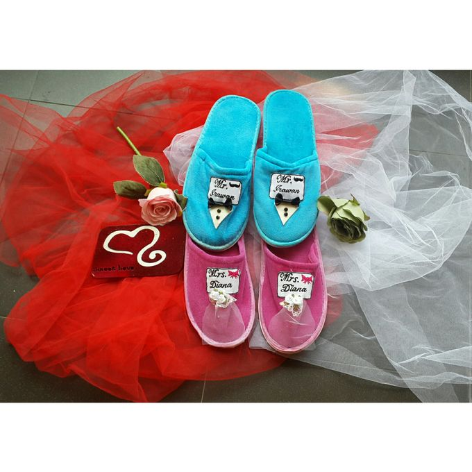 Wedding Slippers by Sweetlovecollection - 002
