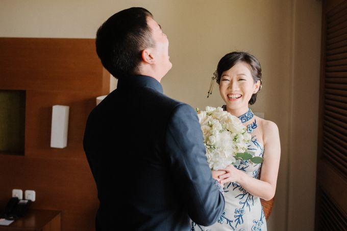 The Wedding Of Alexander & Veriana by Hilton Bali Resort - 009