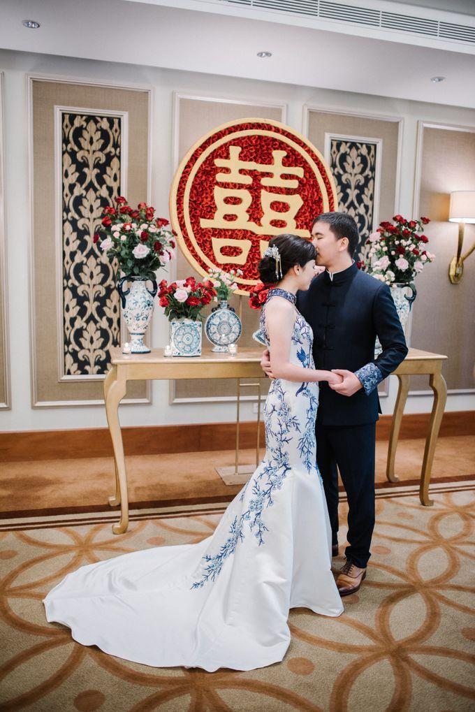The Wedding Of Alexander & Veriana by Hilton Bali Resort - 011