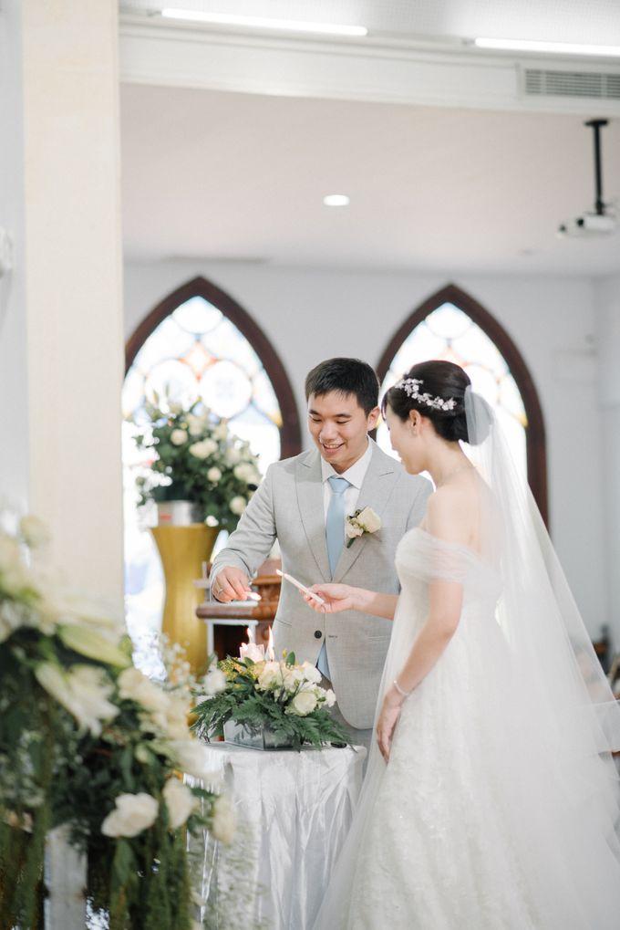 The Wedding Of Alexander & Veriana by Hilton Bali Resort - 035