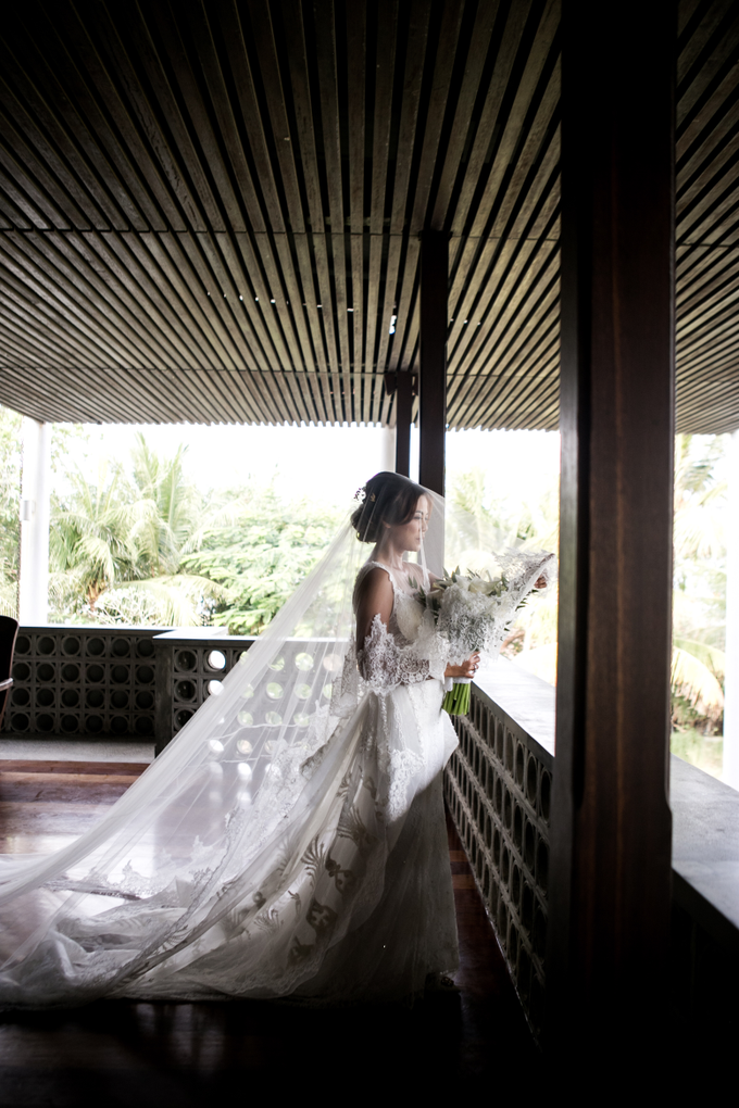 The Wedding of Patrick & Emelia by GAËTA Bridal Couture - 003
