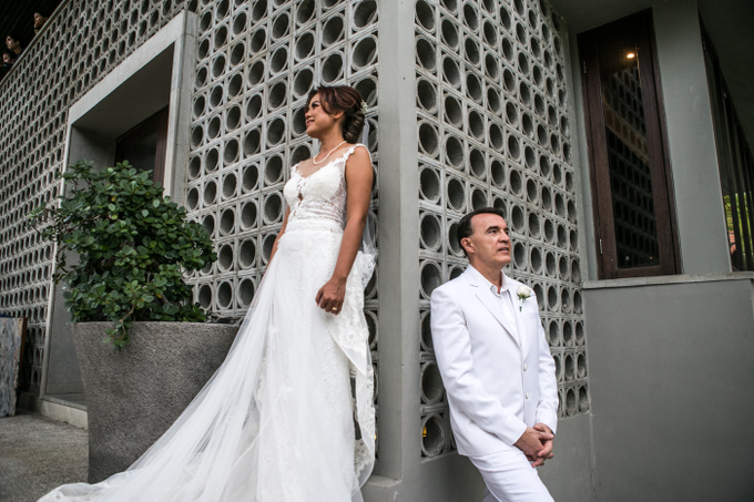 The Wedding of Patrick & Emelia by GAËTA Bridal Couture - 010