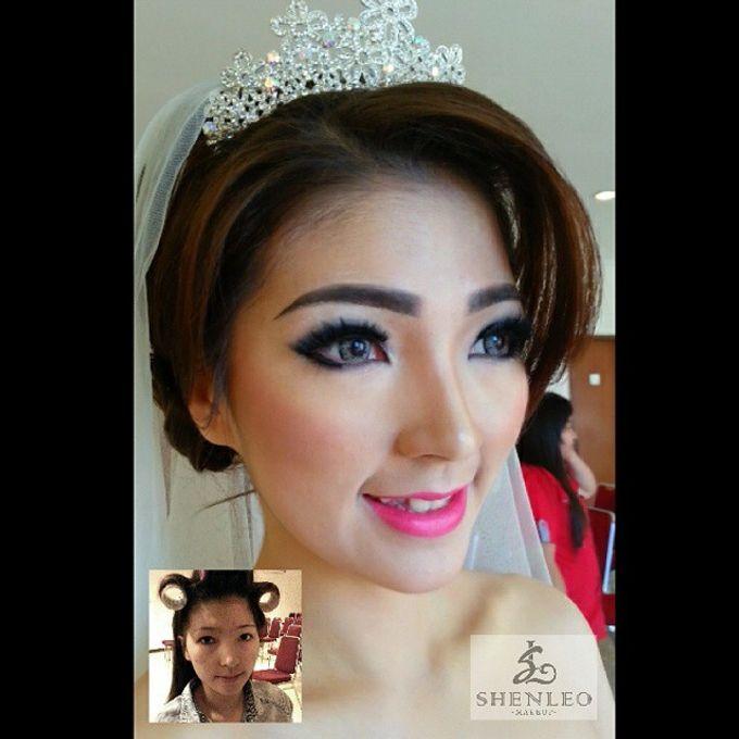 wedding makeup by ShenLeo Makeup - 011