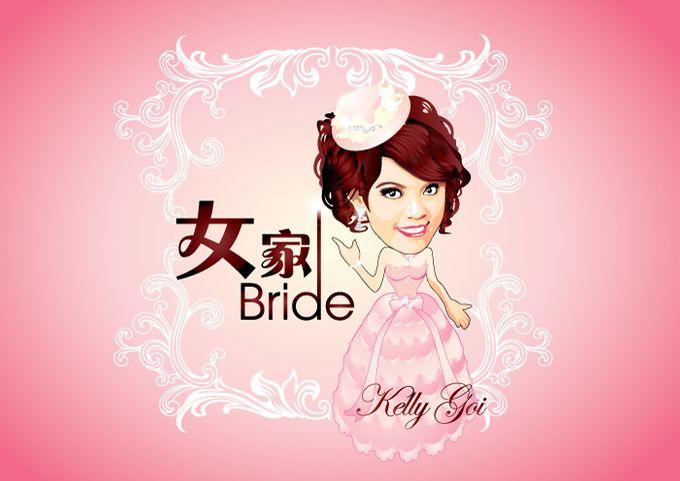 Wedding Caricature by littlebitmoar.com - 004