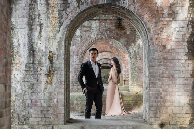 Dion Wiyoko & Fiona Anthony by Wong Hang Distinguished Tailor - 012