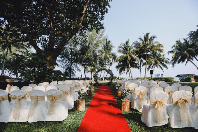 Garden Wedding Rasa Sayang Shangrila Penang by Shangri-La Rasa Sayang Resort - 003