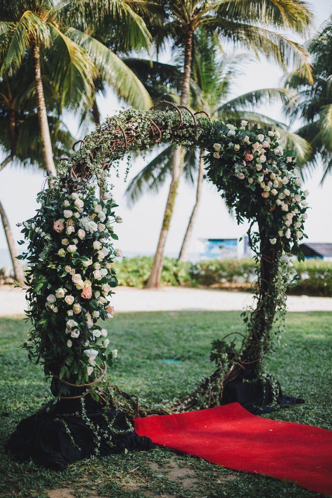 Garden Wedding Rasa Sayang Shangrila Penang by Shangri-La Rasa Sayang Resort - 002