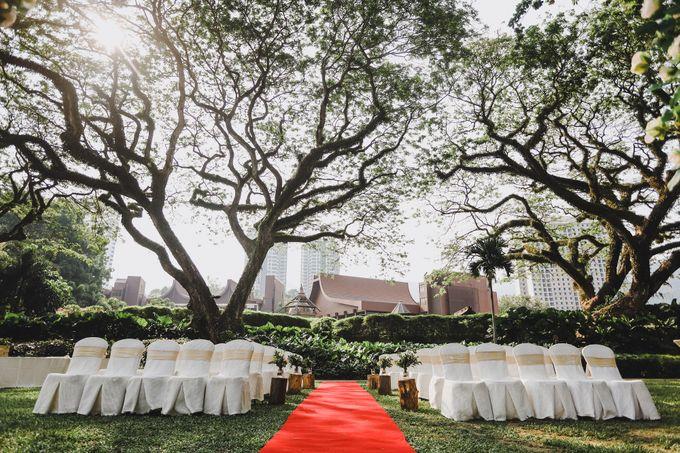 Garden Wedding Rasa Sayang Shangrila Penang by Shangri-La Rasa Sayang Resort - 004