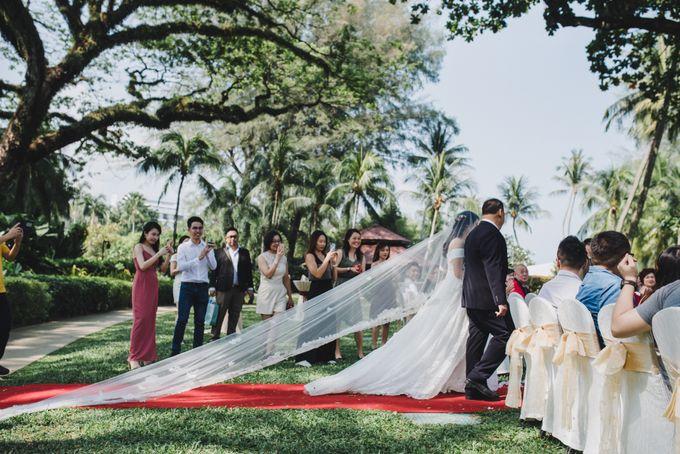 Garden Wedding Rasa Sayang Shangrila Penang by Shangri-La Rasa Sayang Resort - 015