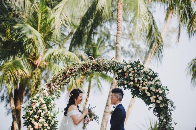 Garden Wedding Rasa Sayang Shangrila Penang by Shangri-La Rasa Sayang Resort - 021