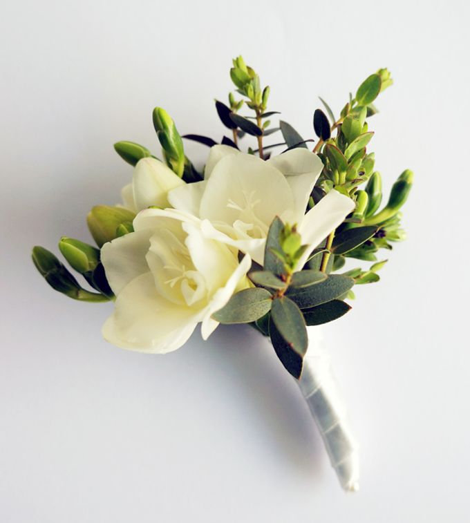 Boutonnieres & Corsages by The Olive 3 (S) Pte Ltd - 008