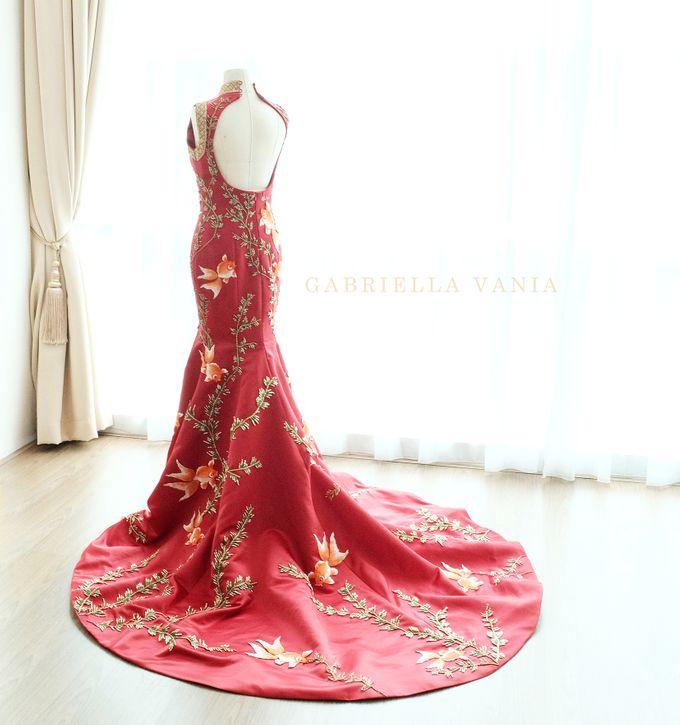 Cheongsam Embroidery - GV HERITAGE by GV by Gabriella Vania - 021