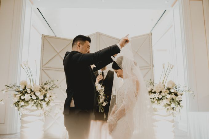 Gilvina & Darrell Wedding Ceremony by ATIPATTRA - 023