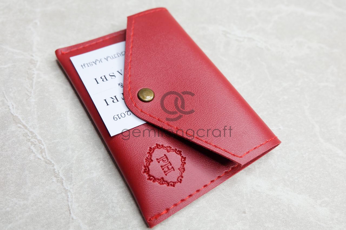 Card coin case for Putri & Hasbi by Gemilang Craft - 001