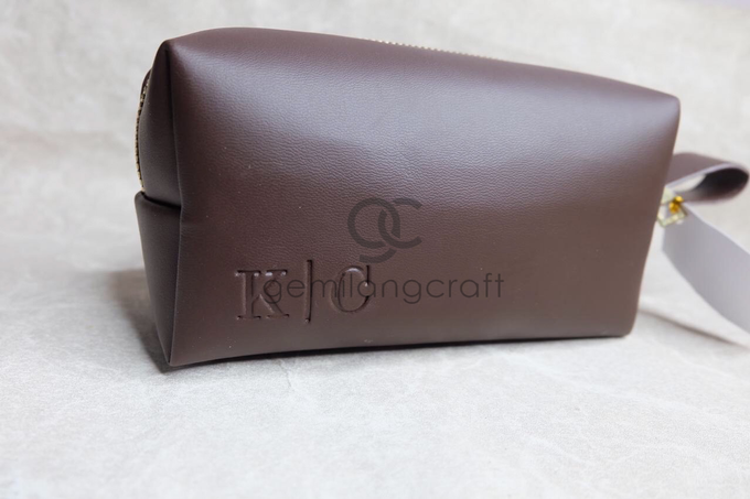 Premium boxy pouch Kevin & Clarissa by Gemilang Craft - 003