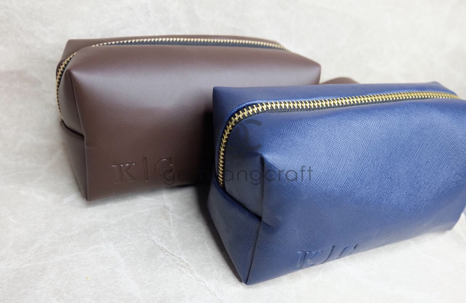 Premium boxy pouch Kevin & Clarissa by Gemilang Craft - 002