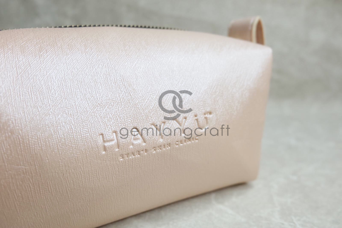 Premium boxy pouch Hayyu skin care by Gemilang Craft - 001