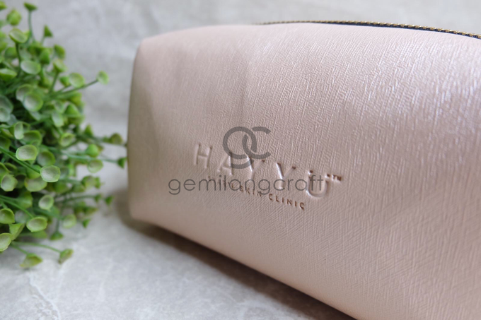 Premium boxy pouch Hayyu skin care by Gemilang Craft - 003
