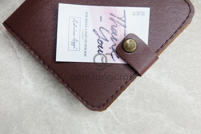 Premium b wallet for Adrianne Aggi by Gemilang Craft - 003