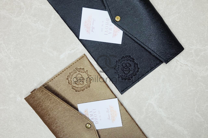 Special prada envelope pouch for Erma & Dhovi by Gemilang Craft - 001