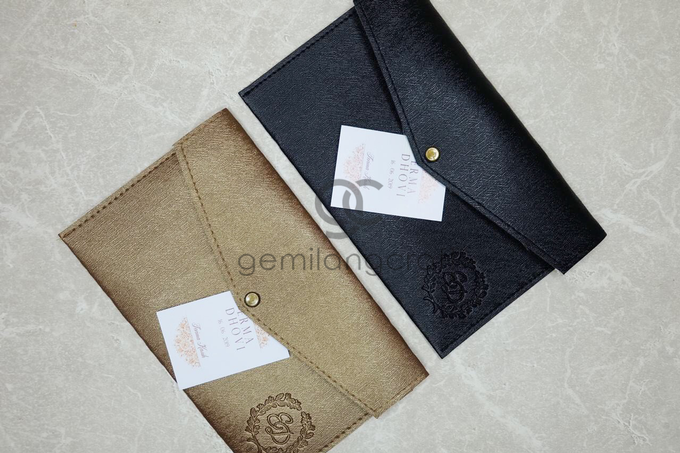 Special prada envelope pouch for Erma & Dhovi by Gemilang Craft - 003