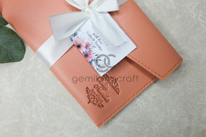 Premium envelope pouch Collin and Novika by Gemilang Craft - 003