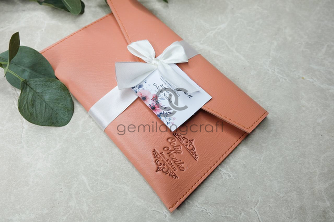 Premium envelope pouch Collin and Novika by Gemilang Craft - 001